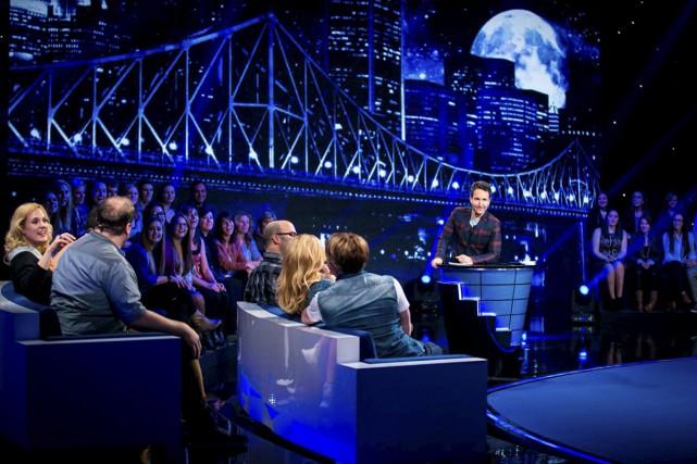 La nouvelle émission d'Éric Salvail, Ce soir tout... (Photo: fournie par V)