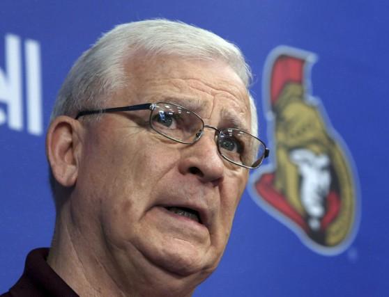 Le directeur général des Sénateurs Bryan Murray a... (La Presse Canadienne)