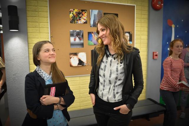 Alice Morel Michaud et India Desjardins dans Subito... (Photo: fournie par Télé-Québec)
