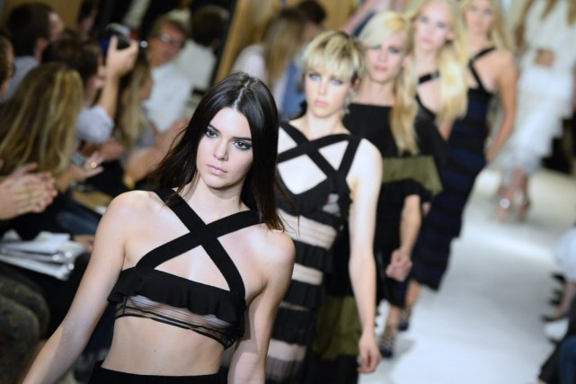 Kendall «c'est ''l'Instagirl'' (fille Instagram) par excellence», explique... (Photo BERTRAND GUAY, AFP)