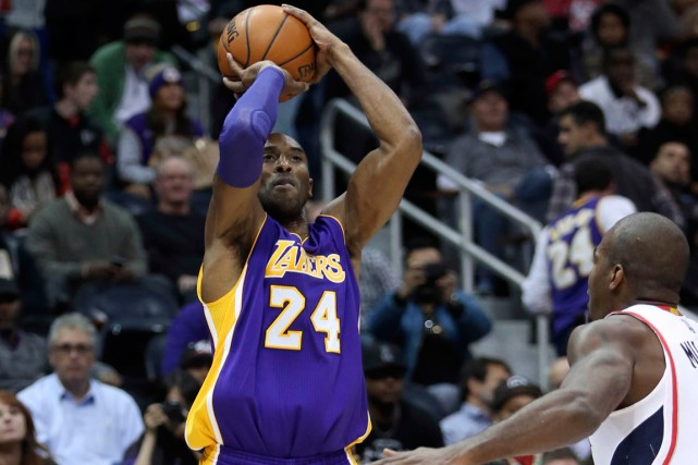 Kobe Bryant... (Photo Jason Getz, USA Today Sports)