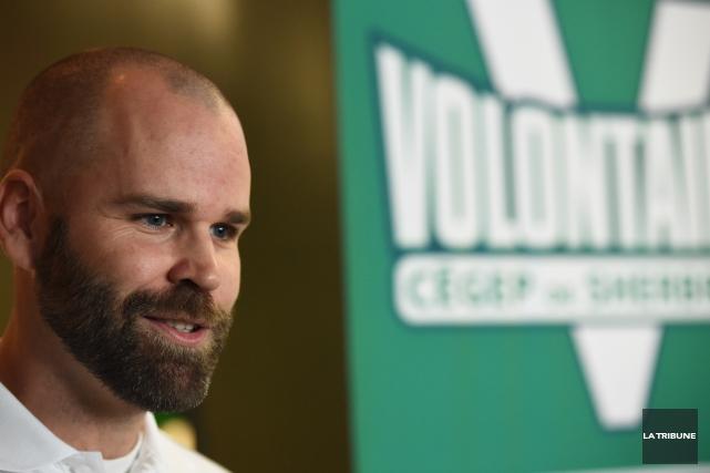 Marc-André Desrochers vient d'être nommé entraîneur-chef à temps... (Imacom, René Marquis)