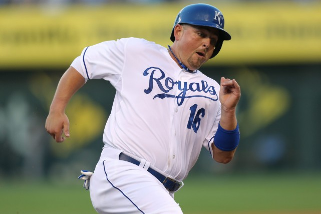 Billy Butler a aidé les Royals de Kansas... (Photo Ed Zurga, AP)