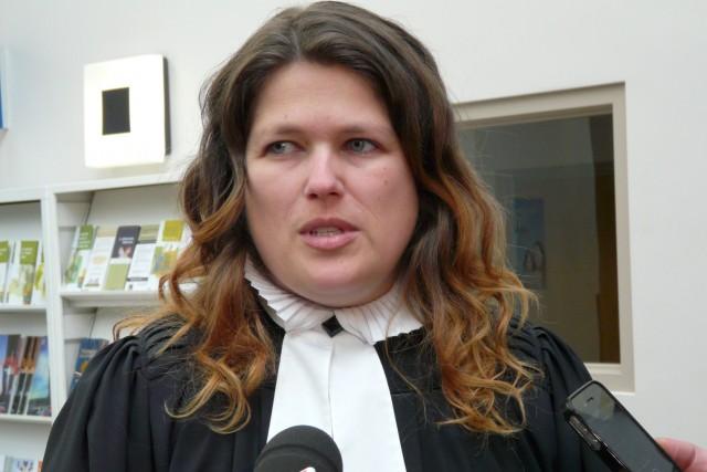 La procureure de la Couronne, Me Audrey Roy... (Collaboration spéciale Luce Dallaire)
