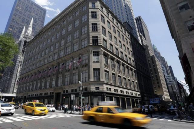 La 5e Avenue est emblématique du bouillonnement du... (Photo Archives AP)