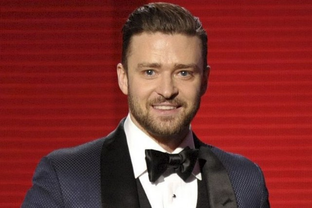 Justin Timberlake aux American Music Awards en novembre... (Photo: archives AP)