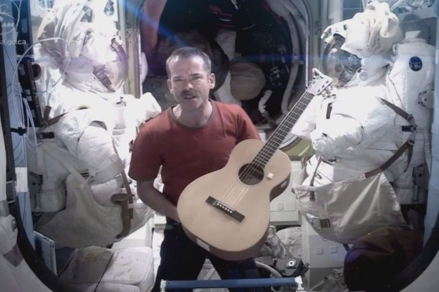 Chris Hadfield... (Photo Archives La Presse Canadienne)