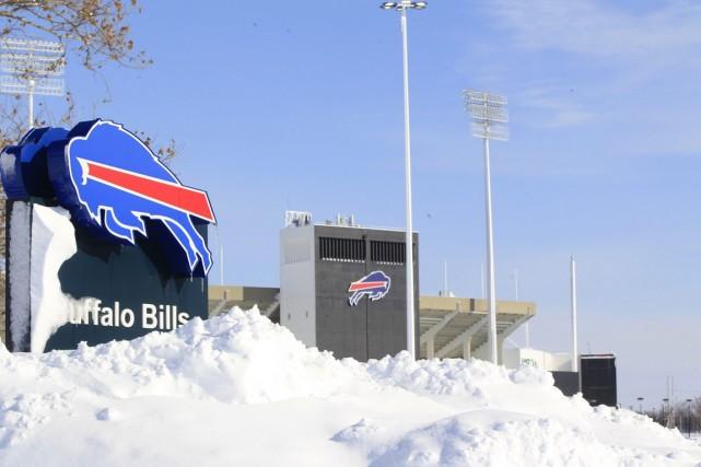 Quelque 120 cm de neige se sont abattus... (Photo AP)
