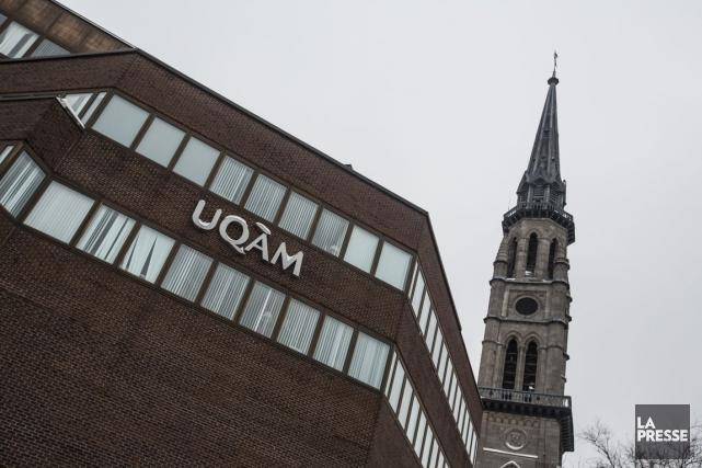 «Je ne crois pas que l'UQAM soit devenue... (PHOTO OLIVIER PONTBRIAND, archives LA PRESSE)