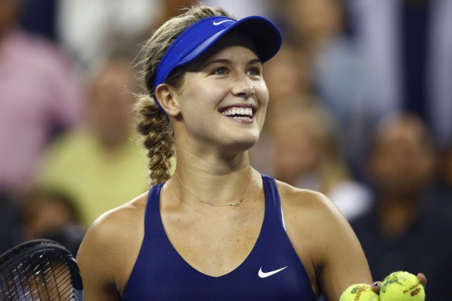 Eugenie Bouchard... (Photo: Reuters)