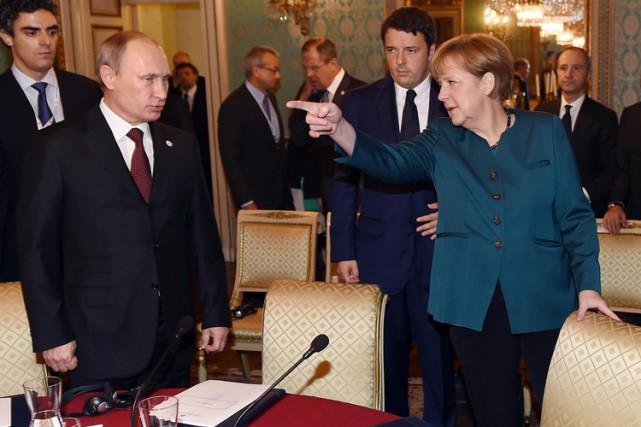 Depuis le début de la crise ukrainienne, la... (Archives AP)