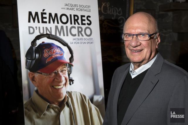 JacquesDoucet a décrit les matchs des Expos de... (PHOTO ROBERT SKINNER, LA PRESSEARCHIVES)