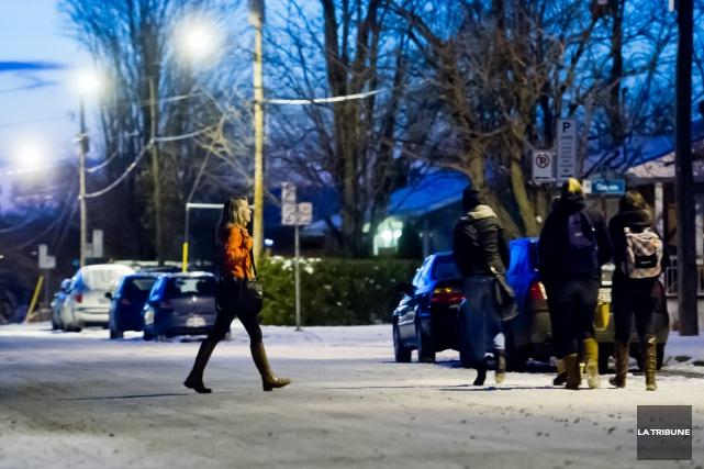 La Fédération étudiante de l'Université de Sherbrooke (FEUS) se mobilise afin... (Imacom, Jessica Garneau)