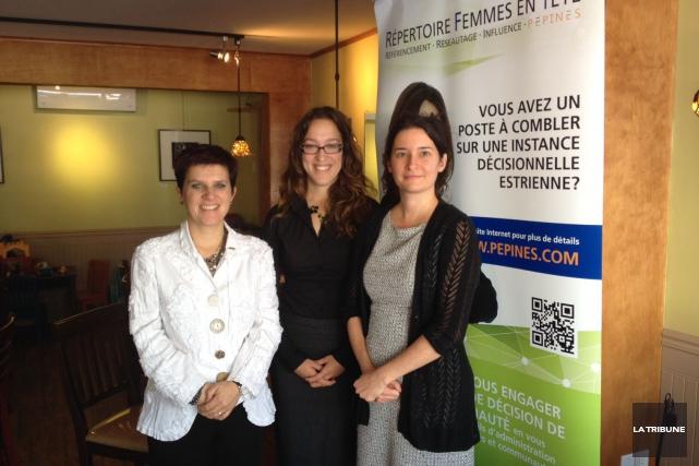 LesPépines(Promotion des Estriennes pour initier une nouvelle équité... (La Tribune, Jacynthe Nadeau)