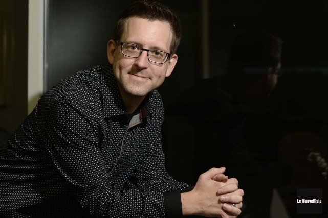 David Lavigne, psychoéducateur au centre de réadaptation Domrémy.... (Photo: Sylvain Mayer, Le Nouvelliste)