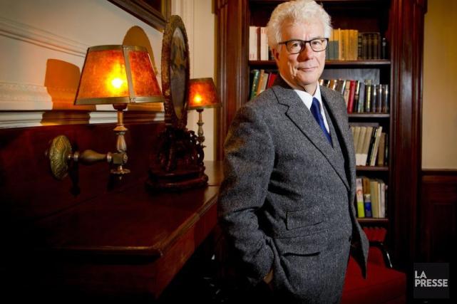 Le romancier britannique Ken Follett est en ville pour le Salon du livre de... (Photo: Alain Roberge, La Presse)