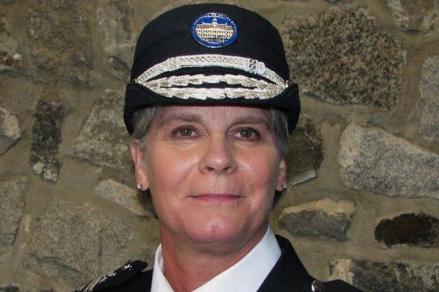 La directrice générale de l'École nationale de police...