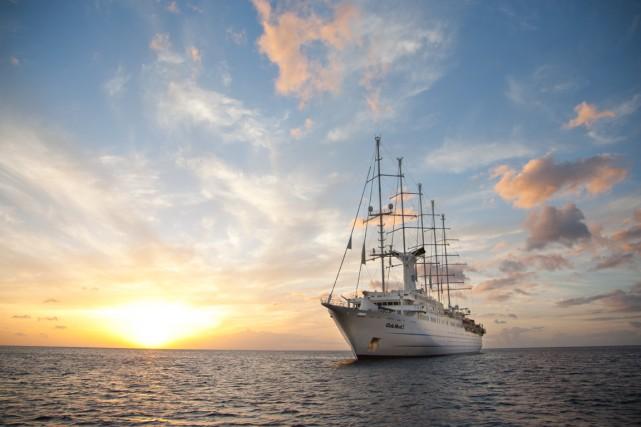 L'unique navire appartenant à Club Med est l'équivalent... (Photo fournie par Club Med)