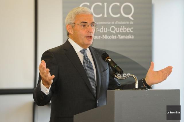 L'ancien président et chef de la direction de... (Photo: François Gervais, Le Nouvelliste)