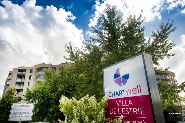 Chartwell Villa de l'Estrie a été reconnu « Résidence de l'année » devant près... (Archives La Tribune)