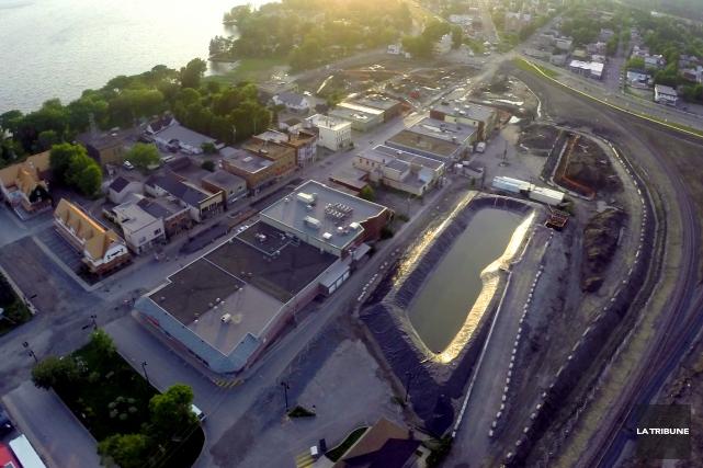La Ville de Lac-Mégantic a annoncé que la marche dans l'ancien centre-ville... (Archives La Tribune)