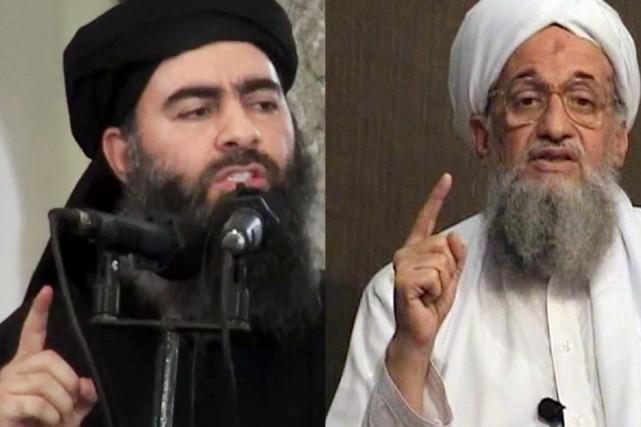 Le chef du groupe armé État islamique Abu... (PHOTOS AP/AFP)