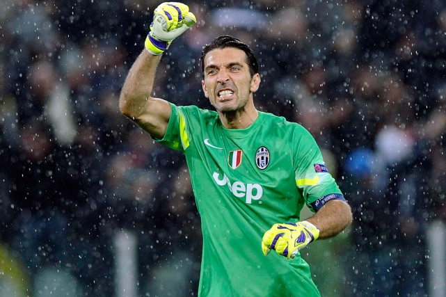 Le gardien de but Gianluigi Buffon en est... (Photo Giorgio Perottino, archives Reuters)