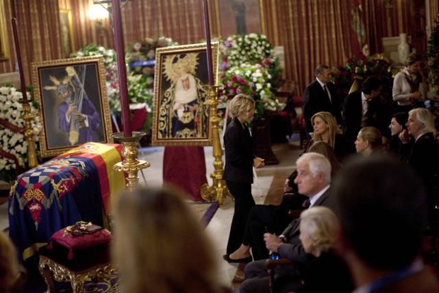 La 18e duchesse d'Albe, Maria del Rosario Cayetana... (PHOTO JON NAZCA, REUTERS)