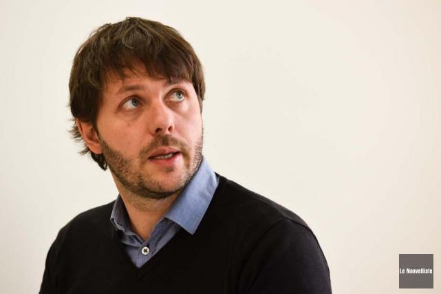 Mathieu Vermot est chef d'équipe en prévention et... (Photo: François Gervais, Le Nouvelliste)
