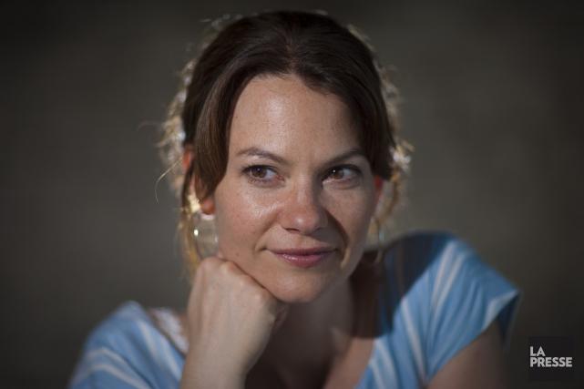 Pour la troisième année, c'est la comédienne Fanny... (Photo: archives La Presse)