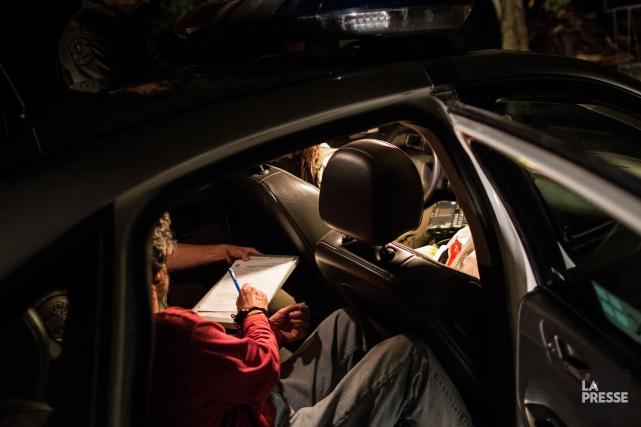 Des agents de la Régie de police de Memphrémagog (RPM) ont arrêté un conducteur... (Archives La Presse)