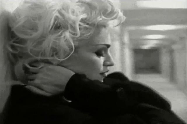 Dernier clip de Madonna, «Justify my Love».... ((Courtoisie))