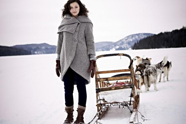 Le manteau Nana de la griffe Melow...