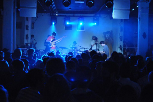 Le groupe torontois BADBADNOTGOOD en prestation.... (Photo: tirée de Flickr)