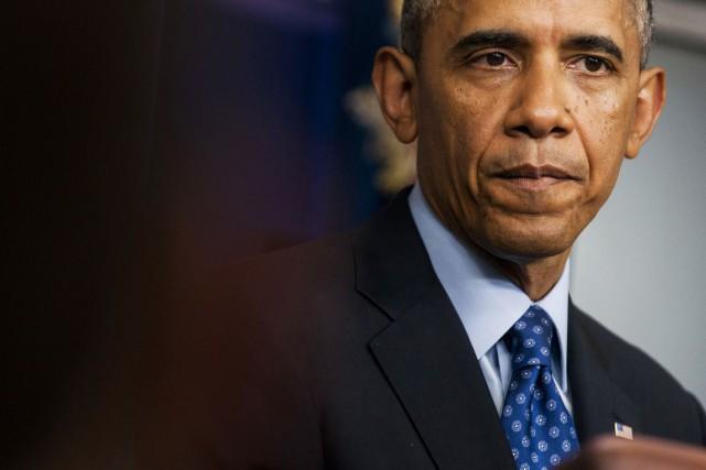 Le président Obama a fait du dossier des... (PHOTO GABRIELLA DEMCZUK, ARCHIVES THE NEW YORK TIMES)