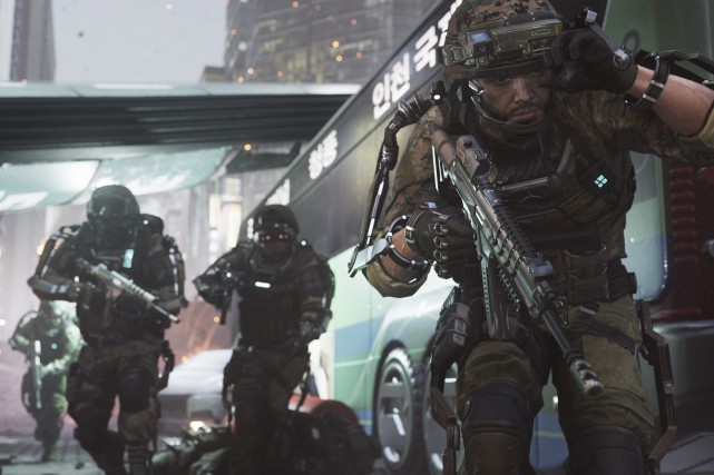 Call of duty: advanced warfare... (PHOTO ARCHIVES AP/ACTIVISION)