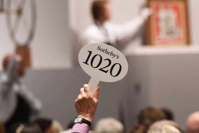La maison d'enchères Sotheby's a annoncé jeudi à New York le départ de son PDG... (Photo DON EMMERT, AFP)