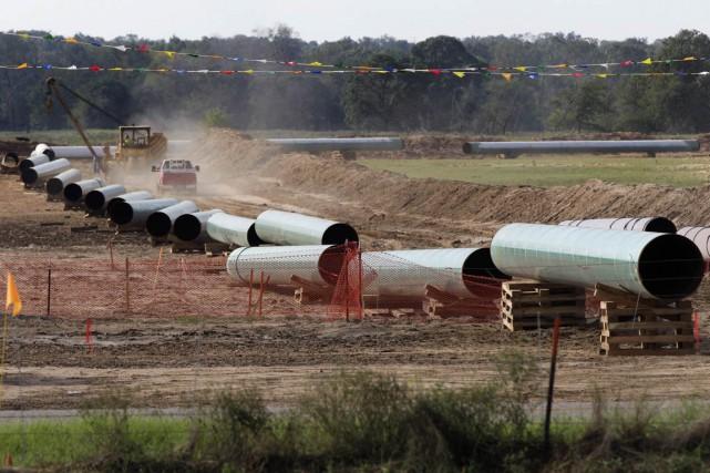 Les inquiétudes soulevées par le projet d'oléoduc Énergie Est ne devraient pas... (PHOTO TONY GUTIERREZ, LA PRESSE CANADIENNE/ASSOCIATED PRESS)
