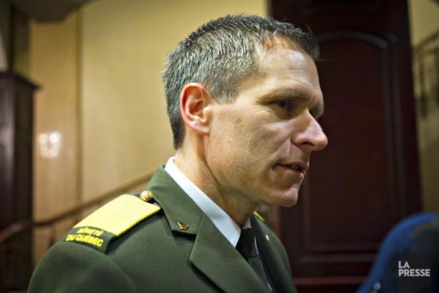 Le directeur général de la Sûreté du Québec,... (PHOTO OLIVIER JEAN, LA PRESSE)