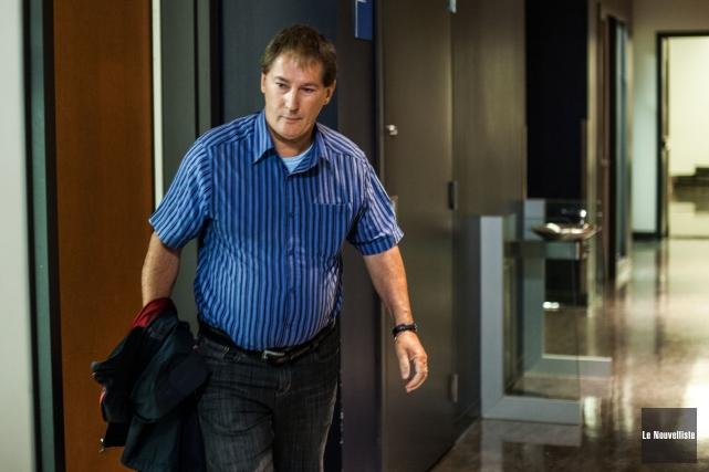 Daniel Boisvert, reconnu coupable d'avoir entretenu une relation... (Photo: Olivier Croteau Le Nouvelliste)