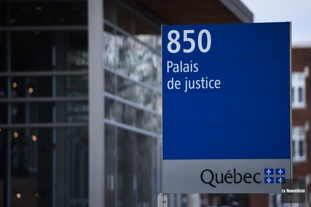 Éric Lafrance a écopé de 30 jours de prison pour avoir agressé sexuellement une... (Photo: François Gervais Le Nouvelliste)