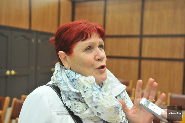 Diane Borgia, porte-parole de Shawinigan citoyens avertis, considère... (Photo: Émilie O'Connor Le Nouvelliste)