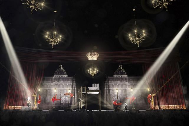 Esquisse préliminaire du spectacle Monaco.... (Image: Patricia Ruel, fournie par le Cirque Éloize)
