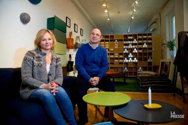 Ragna Vala Kjartansdóttir et Antony Oldani ont choisi... (PHOTO ALAIN ROBERGE, LA PRESSE)