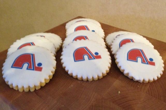 Les biscuits qui ont été offerts à Régis... (Photo Ville de Québec)