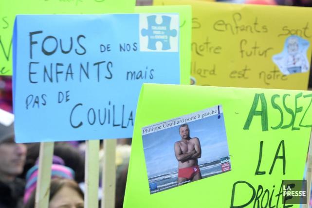 Des parents, des administrateurs et des employés de centres de la petite... (Archives La Presse)