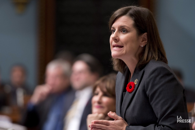 La ministre de la Justice, Stéphanie Vallée... (PHOTO ARCHIVES LA PRESSE CANADIENNE)