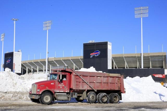 La tempête de neige a incité les autorités... (Photo AP)