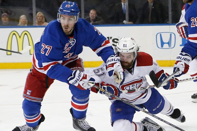 Ryan McDonagh et David Desharnais... (Archives AP)