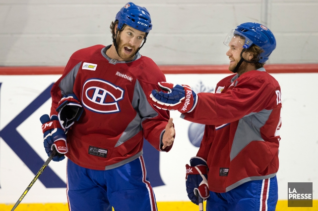 Brandon Prust et David Desharnais seront accompagnés par... (Photo Robert Skinner, archives La Presse)